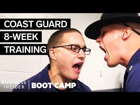 What It Takes To Survive Coast Guard Boot Camp