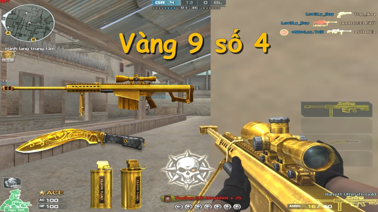 [ Bình luận CF ] 3z Ultimate Gold , Kukri Ultimate Gold - Quang Brave -  YouTube