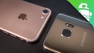 iPhone 7 vs Samsung Galaxy S7 Camera Comparison