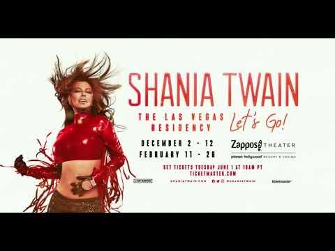 "Shania Twain - ""Let's Go!"" The Las Vegas Residency | Returns December 2, 2021"