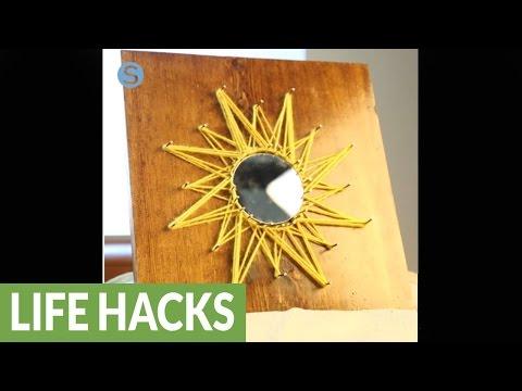 Sunburst string art: A fun and easy craft