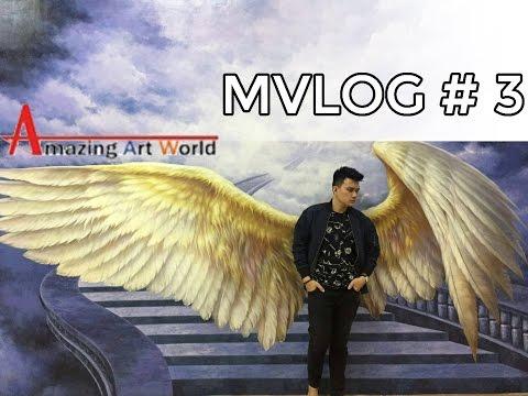 MVLOG #3 SOFT OPENING AMAZING ART WORLD BANDUNG