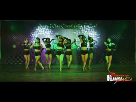 Spring Salsa Ladies Team (Hanoi) @ Hanoi International Latin Festival 2017-Day 1