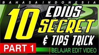 10 TIPS TRICK EDIUS - EDIT VIDEO CEPAT DENGAN EDIUS PART 1