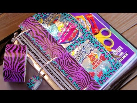 juice pouch pencil pouch duct tape upcycle craft youtube