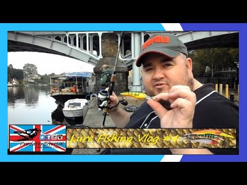 Vlog #4 - Lure Fishing On The River Thames - PredatorBitesUK