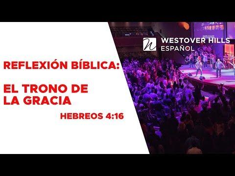 Acerquémonos al Trono de la Gracia - Reflexión Bíblica Hebreos 4:16