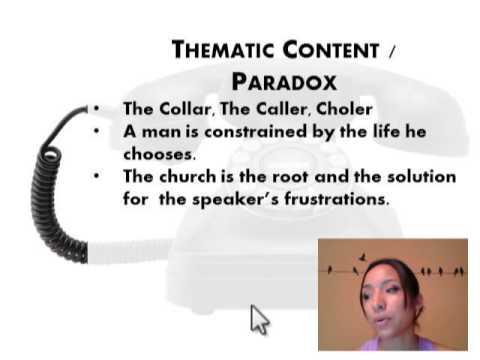 the collar analysis