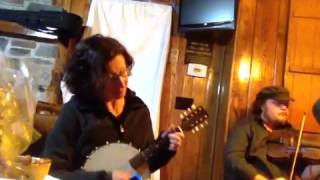 Hometown Rag - demonstrating banjo mandolin 6-2-5-1 chord progression to play along with C rags