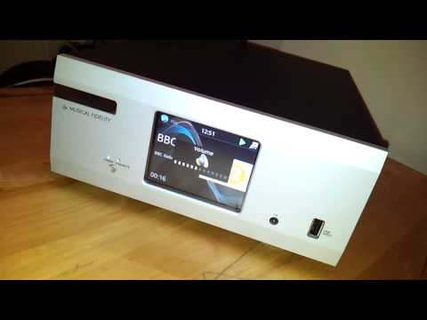 Musical Fidelity M1 CLiC User Interface Preview HD