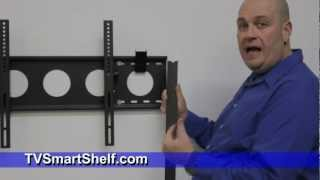 How To Install A Tv Wall Mount Shelf