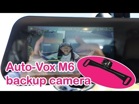 Auto-Vox M6 Backup Camera Installation Part 2