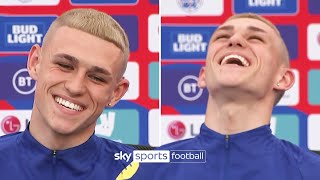 Phil Foden Reveals The Inspiration Behind His NEW Blond Hairstyle! ✂️