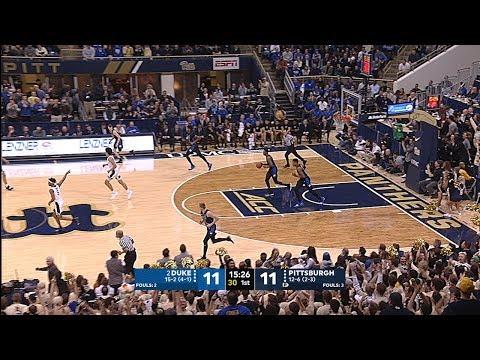 Men's Basketball | Pitt vs. No.2 Duke Highlights