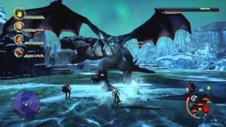 Dragon Age Inquisition Hakkon Wintersbreath Dragon Boss Fight Jaws of Hakkon DLC