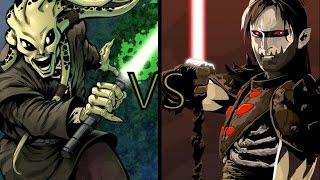 Star Wars Versus Series: Kit Fisto vs Darth Nihl