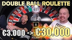 INSANE Double Ball Roulette Big Win Session