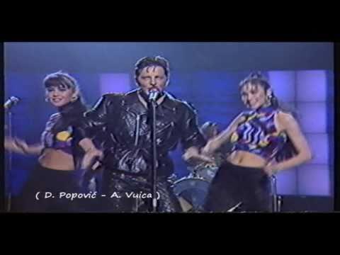 Daniel Popović - Ma daj obuci levisice ( Jugovizija 1991 ~ Original snimka )[HD]