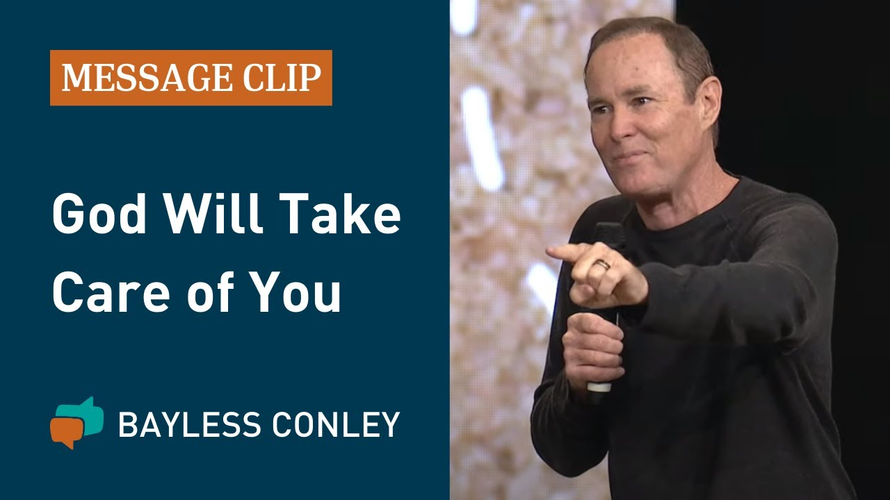 Do Not Be Anxious about Your Life   Bayless Conley - YouTube