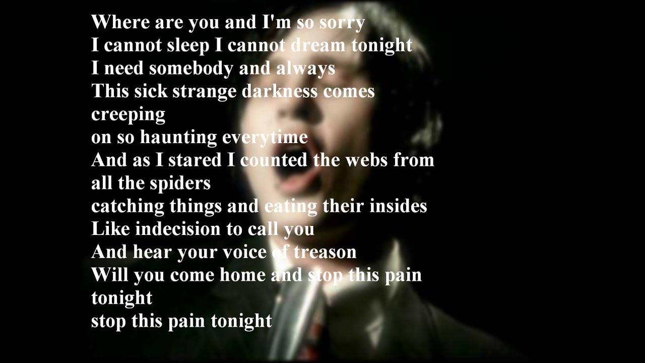 Blink 182 - I Miss You (Lyrics) - YouTube