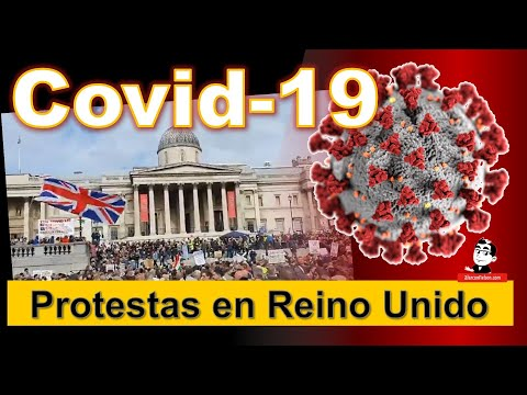 Negacionistas protestan en Reino Unido ☣ Cifras de la pandemia COVID 19 ☣ Septiembre 26 2020