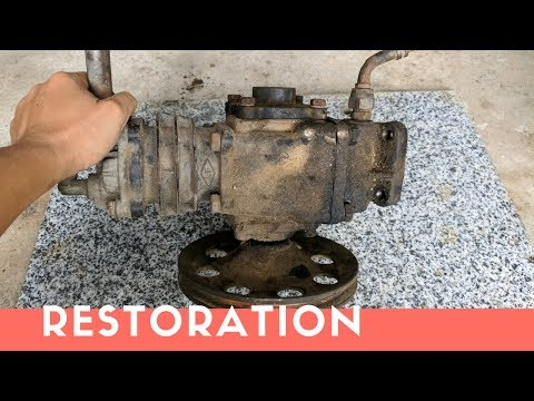 AIR COMPRESSOR Pump Restoration Part 1 - Restore It