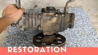 AIR COMPRESSOR Pump Restoration Part 1 - Restore It
