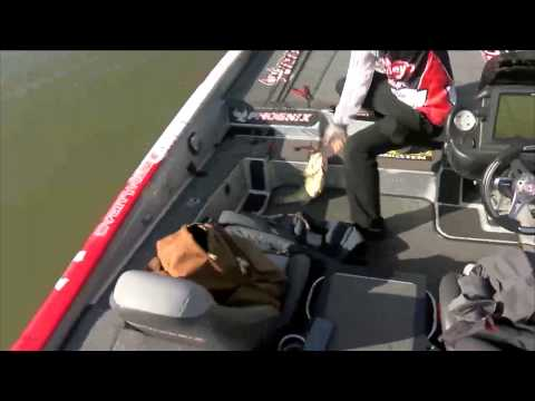 Justin Lucas with a good one BASS Live www.bassmaster.com