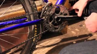 How to Remove Cranks from Bike / Mountain Bike