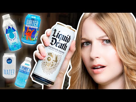 Ultimate CANNED Water Taste Test