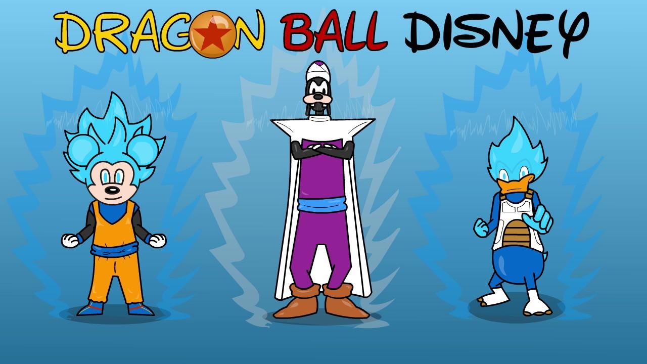 DISNEY X DRAGON BALL Z QUICK ANIMATION