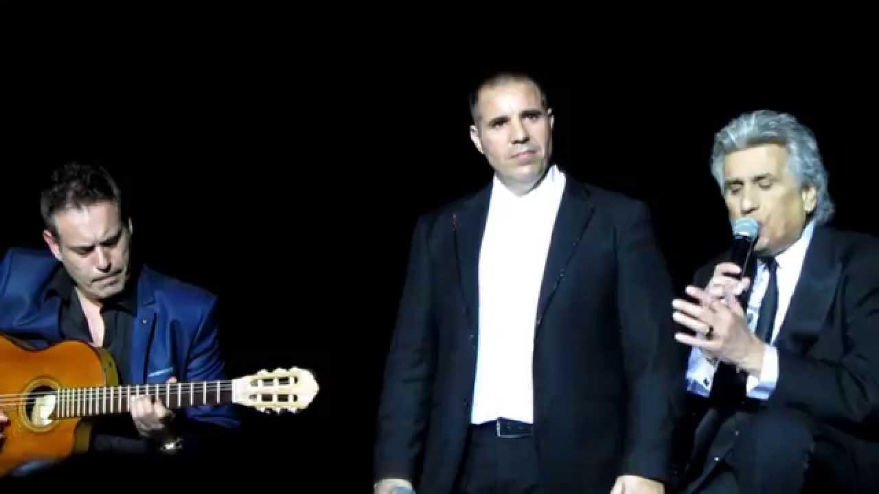 TOTO CUTUGNO & GIUSEPPE RANZANI - CARUSO - SOFIA 2015 - YouTube