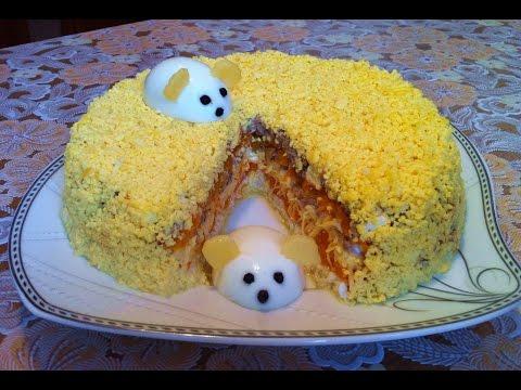 Праздничный Салат Мимоза с Сардиной(Очень Вкусно)/Мимоза Классический Рецепт(Быстро и Просто)