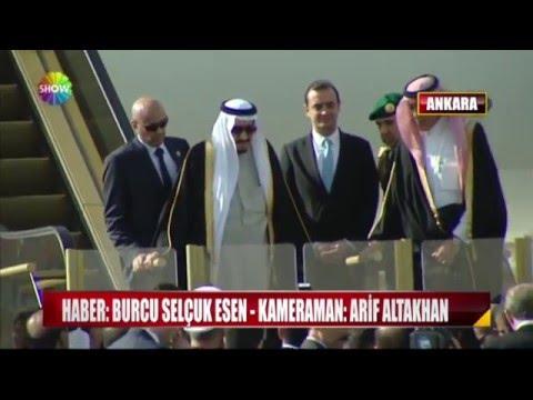 Suudi kral Türkiye'de