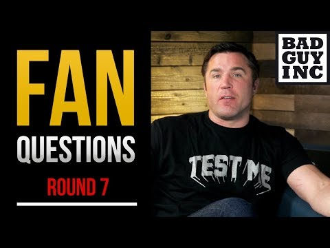 Since you asked...Fan questions (Round 7)