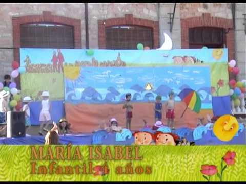 Fiesta fin de curso 2012 1 parte bienvenida infantil 4 for Decoracion de aulas infantiles