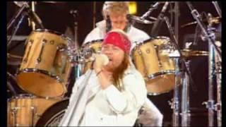 Guns N Roses on Freddie Mercury tribute - We Will Rock You