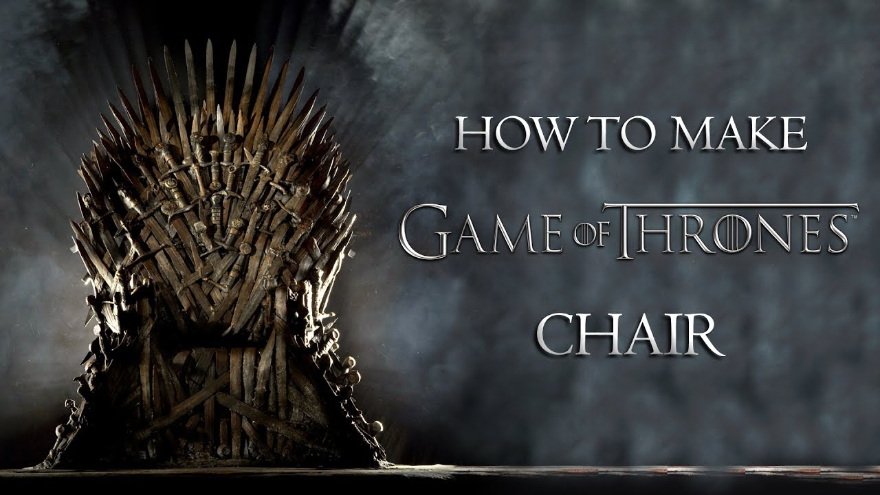Game Of Throne Chair Giant Bean Bags Chairs Thrones Diy Youtube