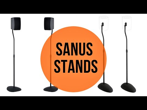 Sanus Speaker Stands for the Starke Sound Echo and Other Small Speakers