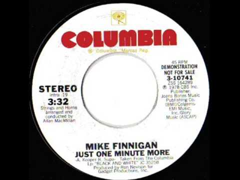 Northern Soul - Mike Finnigan - Just One Minute More - Columbia