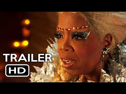 A Wrinkle in Time Official Trailer #1 (2018) Oprah Winfrey, Chris Pine Fantasy Movie HD
