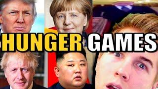 World Leaders in Hunger Games Simulator! (Battle Royale)