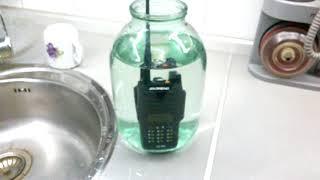 BAOFENG UV-XR 10 Вт (10W) Тест на водонепроникність (waterproof test)