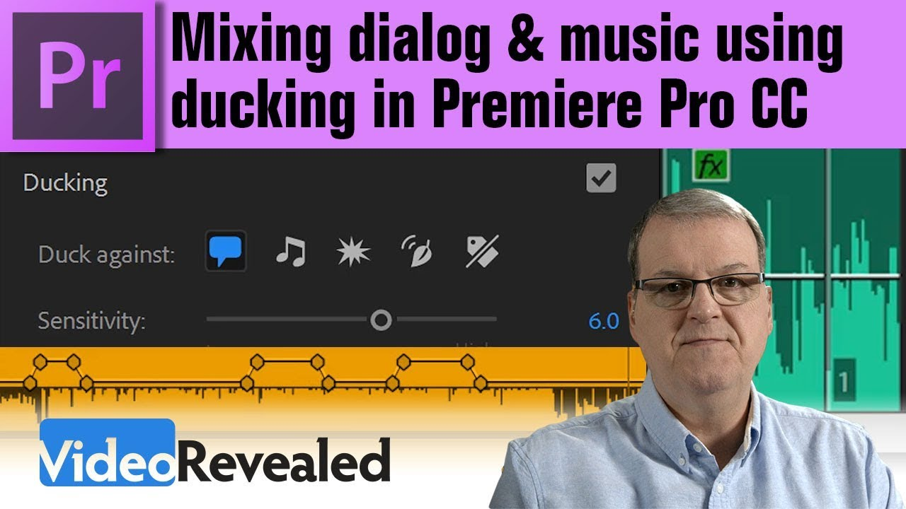 Mixing dialog & music using ducking – Your Guide to Free