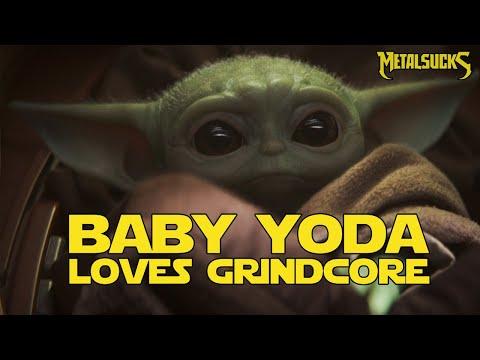 Baby Yoda Loves Grindcore