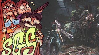 The End   Resident Evil 3 REMAKE   Scary Game Squad Part 7