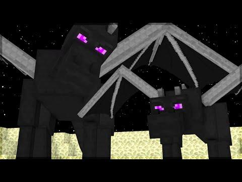 Minecraft: O FILHO DO ENDER DRAGON! (BUILD BATTLE)