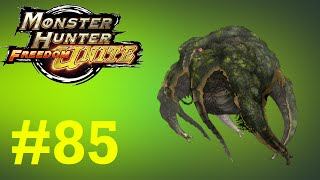 Monster Hunter Freedom Unite - Online Quests -- Part 85: The Floating Dragon - Yama Tsukami