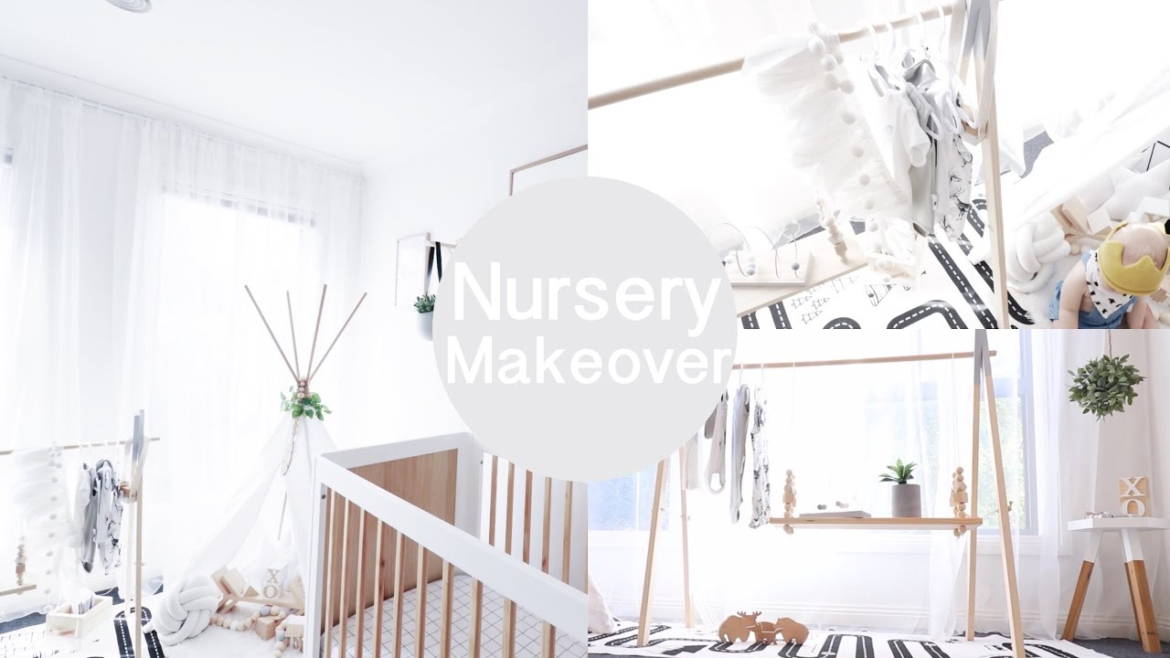 designer baby nursery makeover tour video youtube rh youtube com designer baby girl nursery ideas designer baby nursery wholesale