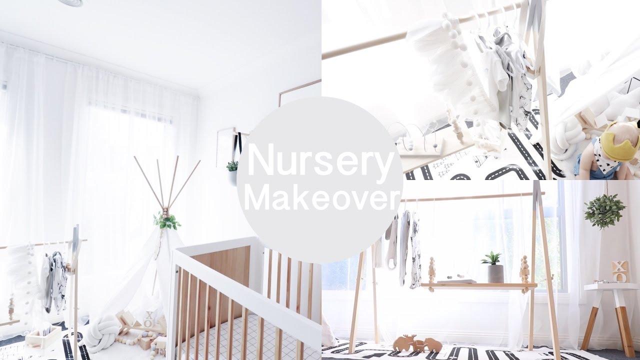 Best Kitchen Gallery: Designer Baby Nursery Makeover Tour Video Youtube of Designer Baby Rooms  on rachelxblog.com